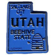 Utah Magnet 2D 50 State Blue