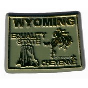Wyoming Shotglass 3 View