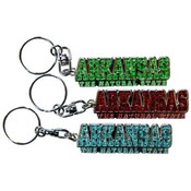 Jenkins Arkansas Keychain- Shanghi Diamond Letter Wholesale Bulk