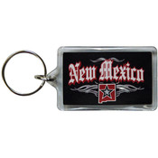 New Mexico Lucite Keychain- Rock 'n Roll