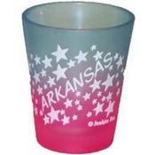 Arkansas Shot Glass 2.25H X 2 W Multiclr Stars Wholesale Bulk