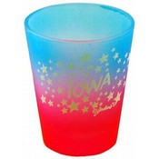 Iowa Multicolor Shotglass- Stars