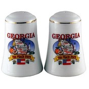 Georgia Salt and Pepper set Set State Map Wholesale Bulk