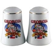 Georgia Salt and Pepper set Set State Map Wholesale Bulk