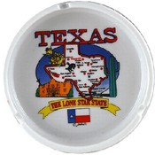 Texas Ashtray State Map
