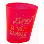 Kansas Tipsy Shot Glass