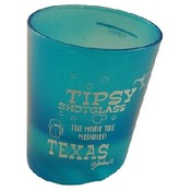 Texas Tipsy Shot Glass