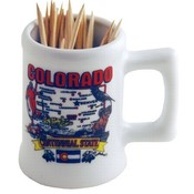 Colorado Toothpick Holder