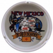 New Mexico Ashtray- State Map