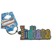Indiana Keychain Pvc Festive