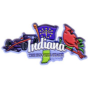 Indiana Magnet 2D Elements