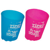 Indiana Tipsy Shot Glass