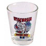 Wisconsin State Map Shot Glass