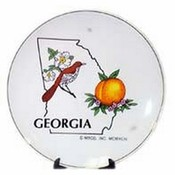 Georgia Plate Bird/Flower Wholesale Bulk