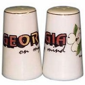 Georgia Salt and Pepper set Set Georgia On Mind Wholesale Bulk