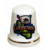 California Thimble- Map/Flag