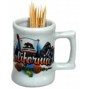 California Toothpick Holder- Elements