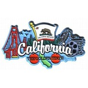 California 2D Magnet- Elements