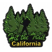California 2D Magnet- Hit The Trail