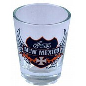 New Mexico Shotglass- Ride To Live