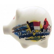 North Carolina Piggy Bank- Elements