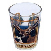 Nebraska Shotglass- Wildlife