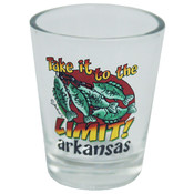 Jenkins Arkansas Shotglass- Take It To The Limit Wholesale Bulk