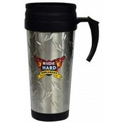 Jenkins Arkansas Travel Mug- SS/Diamond Plate Wholesale Bulk