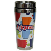 Jenkins Arkansas Travel Mug- SS/Acrylic Cruiser Wholesale Bulk