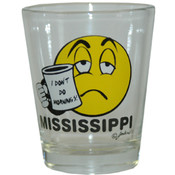 Mississippi Shotglass- I Don't Do Mornings