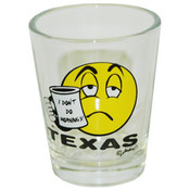Texas Shotglass- I Don't Do Mornings