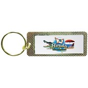 Florida Metal Keychain- Elements