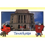 Arkansas Postcard Ar147 Texarkana Wholesale Bulk