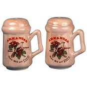 Arkansas Salt and Pepper set Set Bird/Flower Wholesale Bulk