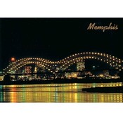 Tennessee Postcard Me600 Memphis Bridge
