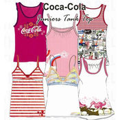Screen Print Coca Cola Tank Tops