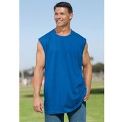 Mens Irregular Black Muscle Shirts Assorted Sizes