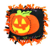 Christian Pumpkin Fleece Tied Pillow Craft Kit