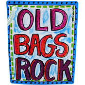 Luggage Tag: Old Bags Rock Wholesale Bulk