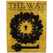 The Way Lock and Key Plaque Wholesale Bulk
