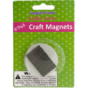 krafters korner 8 Assorted Craft Magnets Wholesale Bulk