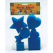 Craft Sponges Asst. Shapes