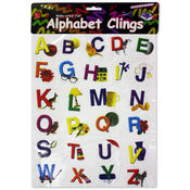 Alphabet Window Clings Wholesale Bulk
