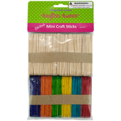100-Count Mini Craft Sticks Wholesale Bulk