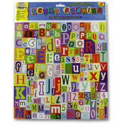 Scrapbooking Die Cut Letter Stickers