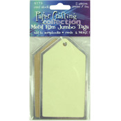 Jumbo Metal Rim Tags
