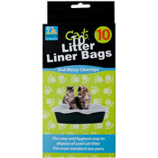 10 Piece Cat Litter Bags