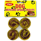 4 Pack Munchie Spirals