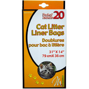 20Pk Cat Litter Liners