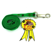 Woven Paw Print Dog Leash Wholesale Bulk